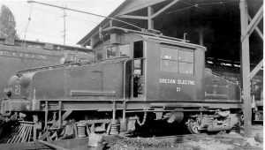 OREGON ELECTRIC RAILWAY NO 21 SEPT 1932